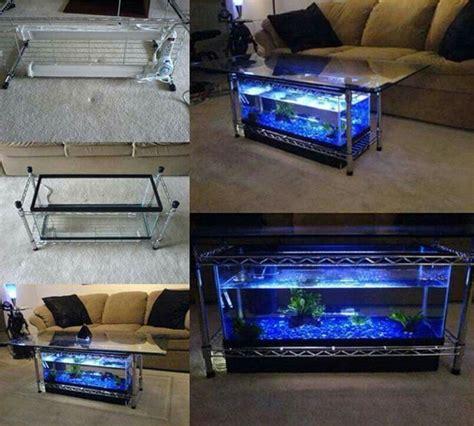Tisch Mit Aquarium by Aquarium Im Wohnzimmer Tisch Aquarium