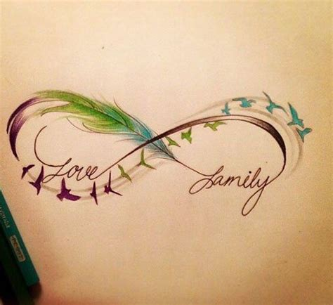 feather tattoo representation 60 infinity tattoo designs and ideas with meaning updated