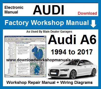 Audi Workshop Repair Manuals