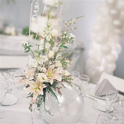 winter bridal shower centerpieces picture of inspiring winter wedding centerpieces