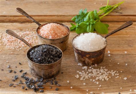 diversi tipi di i diversi tipi di sale e il loro utilizzo in cucina