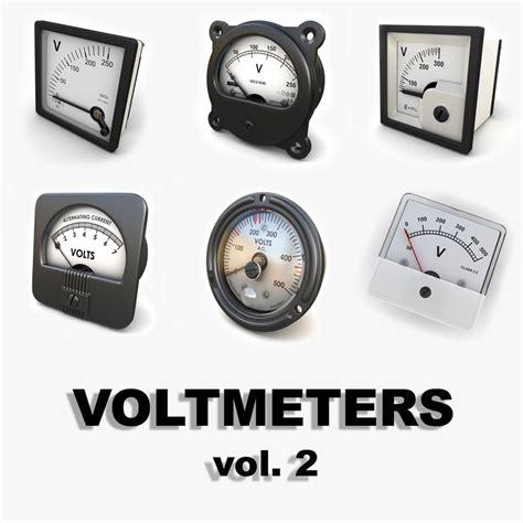 Voltmeter Analog analog voltmeters 3ds
