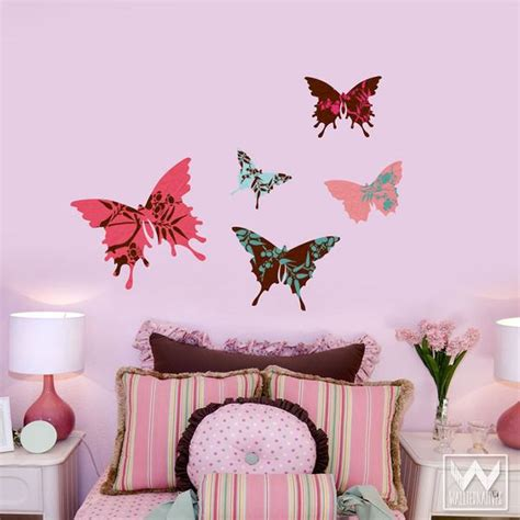 butterfly wall decor for room butterfly wall for decorating nursery or