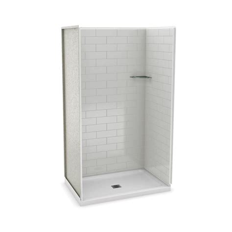 Home Depot Maax Shower by Utile By Maax 32 In X 48 In X 83 5 In Alcove Shower Kit