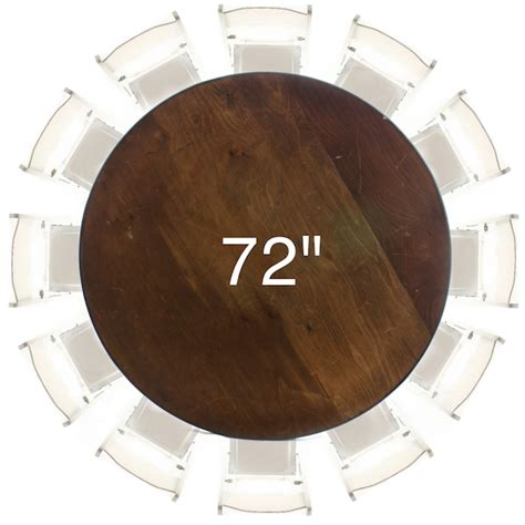 72? Round Plywood Table   American Party Rentals