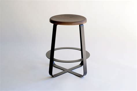 design bar stools stylish small metal and wood backless bar stool of stylish