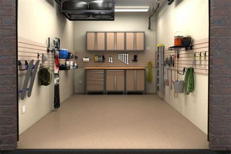 Small Garage by Small Garage Ideas With Smart Storage Garage
