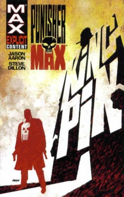 libro punisher max kingpin punishermax kingpin volume comic vine