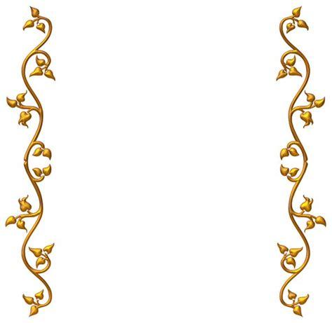 wedding border design gold gold vine border clipart