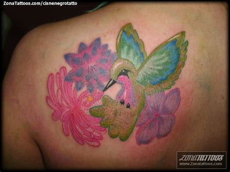 imagenes tatuajes colibri tatuaje de colibr 237 es flores aves