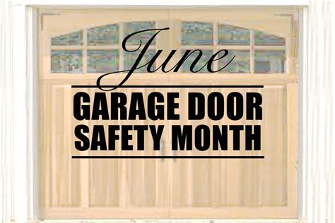 Garage Door Safety by Give Your Garage Door A Safety Inspection