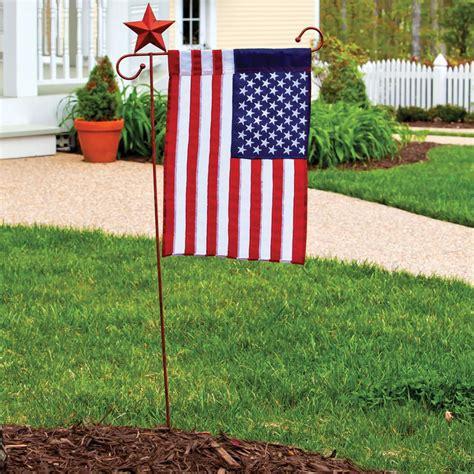 Garden Flag Accessories by Appliqu 233 Usa Garden Flag Evergreen 11220 Flags