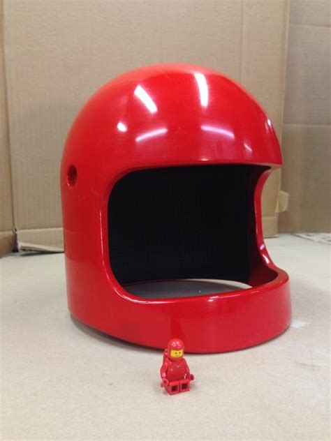 full size lego space helmet makezilla