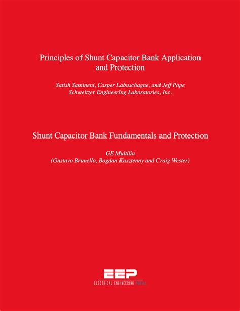 ge capacitor bank protection shunt capacitor bank applications and protection fundamentals eep