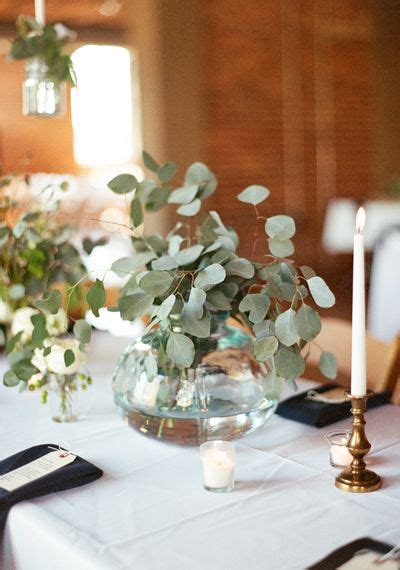 Color Of The Year 2017 Greenery Wedding Centerpiece Greenery For Wedding Centerpieces