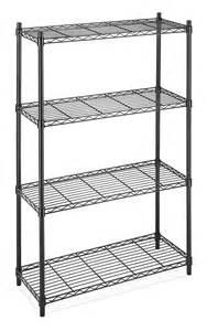 Tier 4 shelves steel wire storage rack industrial utility restaurant