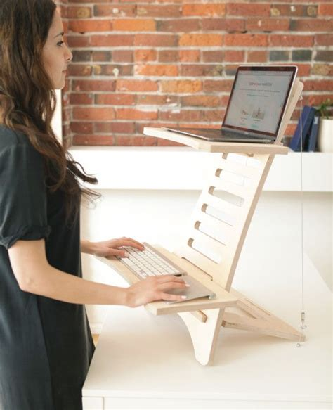 simple adjustable portable standing desks that