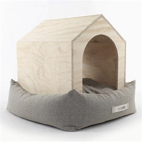 house dog bed luxury dog house and bed of natural materials digsdigs
