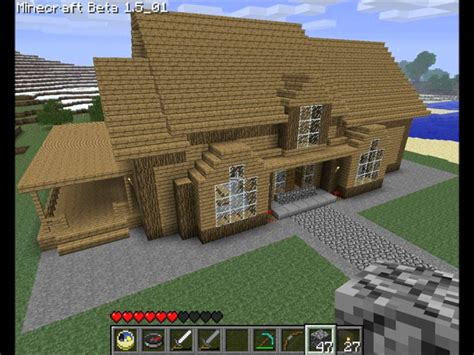 how to build the best house in minecraft best minecraft house ever tutorial youtube
