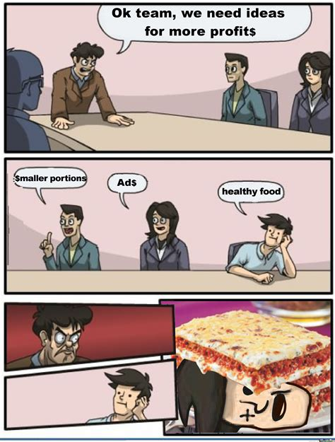 Boardroom Suggestion Meme Maker - findus boardroom suggestion by anthropoceneman meme center