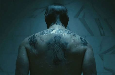what tattoo does john wick have on his back john wick chapter two your definitive guide