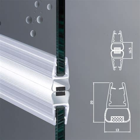 vetri box doccia guarnizione magnetica box doccia per vetri di spessore da