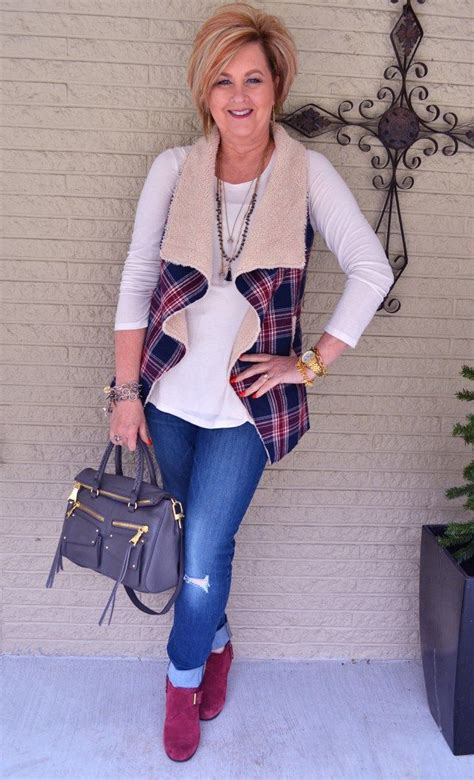 cute outfits for women over 50 you snooze you lose plaid 50th and woman