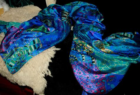Mulberry Plain Heaven Lights silk scarves wraps shawls unique creative designs