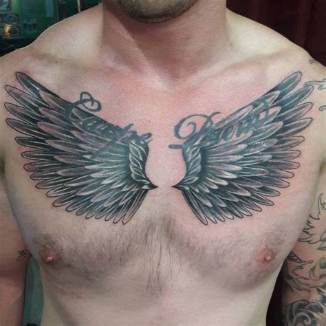 wings on chest tattoo 20 wing designs ideas design trends premium