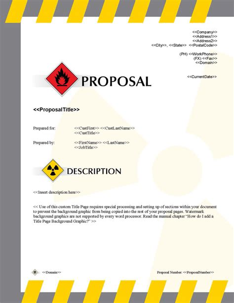 Proposal Pack Transportation #2   Software, Templates, Samples