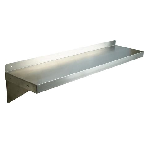 Commercial Bookshelves Stainless Steel Shelves Wall Mount