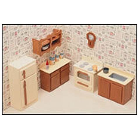 miniature dollhouse kitchen furniture greenleaf the kitchen minature dollhouse furniture free shipping discount doll house