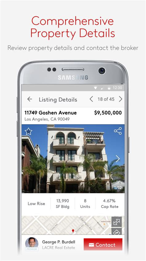 Loopnet Property Records Loopnet Commercial Real Estate Search Android Apps On Play