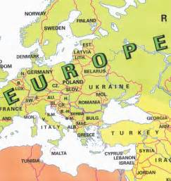 Labeled Europe Map by Map Of Europe Countries Labeled Map Holiday Travel