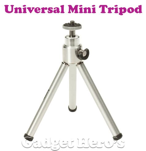 Tripod Gadget buy gadget heros universal mini 1 4 tripod with 360 rotating tilting extendable legs silver