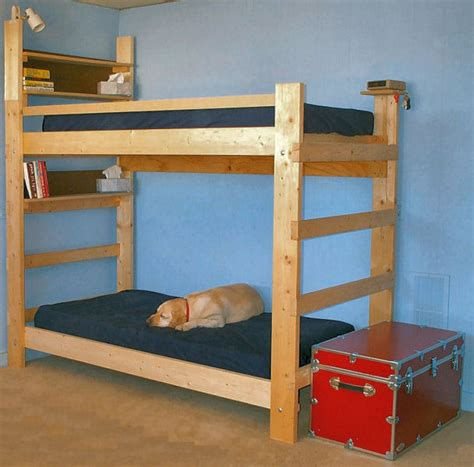 How To Make Wooden Bunk Beds Loft Bed Building Plans Bed Plans Diy Blueprints