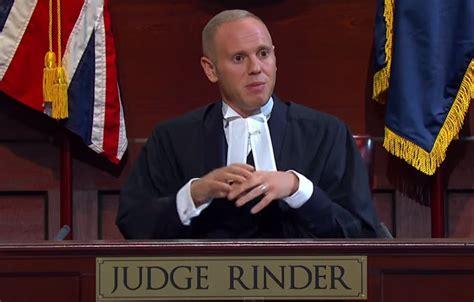 judge rinder robert rinder married newhairstylesformen2014 com