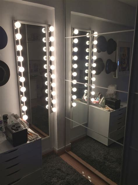 Mirror Lights Bedroom More Storage Insights From The Quot Ikea Bedroom Makeover Quot Offbeathome