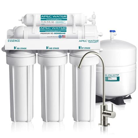 Sink Osmosis Water Filter System by Apec Water Systems Essence Premium Quality 5 Stage