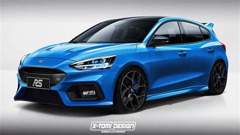 2020 Ford Focus Rs St 2020 ford focus rs speculatively rendered