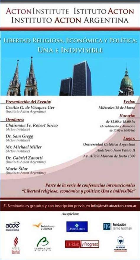 noticias sobre libertad religiosa y religiones eventos sobre libertad religiosa realizados en argentina