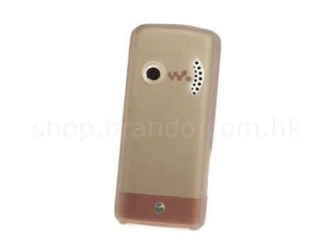 Casing Hp Sony Ericsson W200i brando workshop silicone for sony ericsson w200i