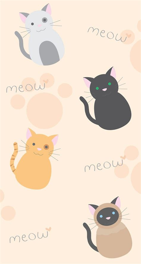 wallpaper cats kawaii kawaii wallpaper iphone crazy cat lady at 27 pinterest