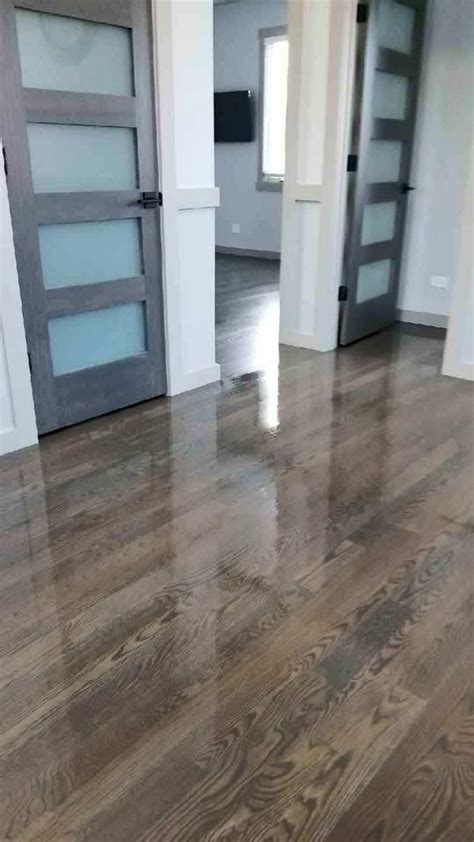 Brown and Gray Floor Stain by Bona   Chicago   Tom & Peter
