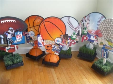 sports theme centerpieces bar mitzvah celebration bar mitzvah bar mitzvah sign in board mitzvahmarket