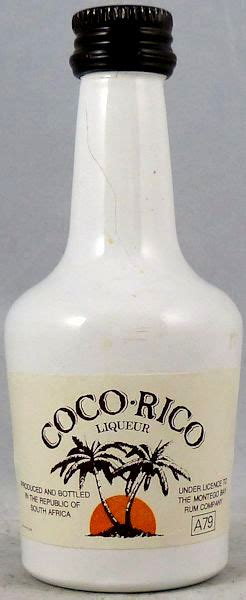 coco rico miniature bottle library distell group