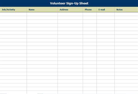 volunteer schedule templates 11 free word excel pdf format