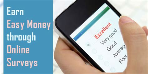 Earn Money Through Online Surveys - earn easy money through online surveys giveaway monkey