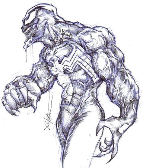 Drawing Venom by How To Draw Venom Www Imgkid The Image Kid Has It