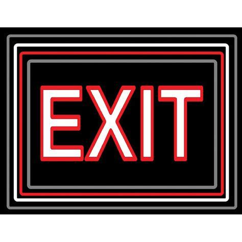 porta trace light panel porta trace gagne led light panel with exit logo 1118 exit 1